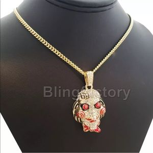 "Mens 24"" Saw Necklace Tekashi 6ix9Ine HOT! SALE!"